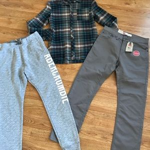 Boys lot!16yr Levi's, Abercrombie Kids, Art Class